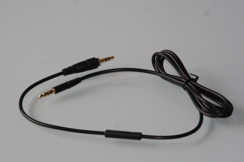Powieksz do pelnego rozmiaru 0110E-BASS-001 bass-line bass line kabel mikrofonem sterowaniem Android iOS iphone