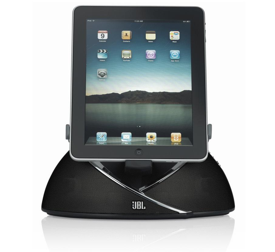 Powieksz do pelnego rozmiaru jbl stacja dokująca, doker, iPhone 5, iPod, iPad  OnBeat, On-Beat, On Beat